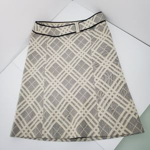 Burberry style check pattern skirt 38